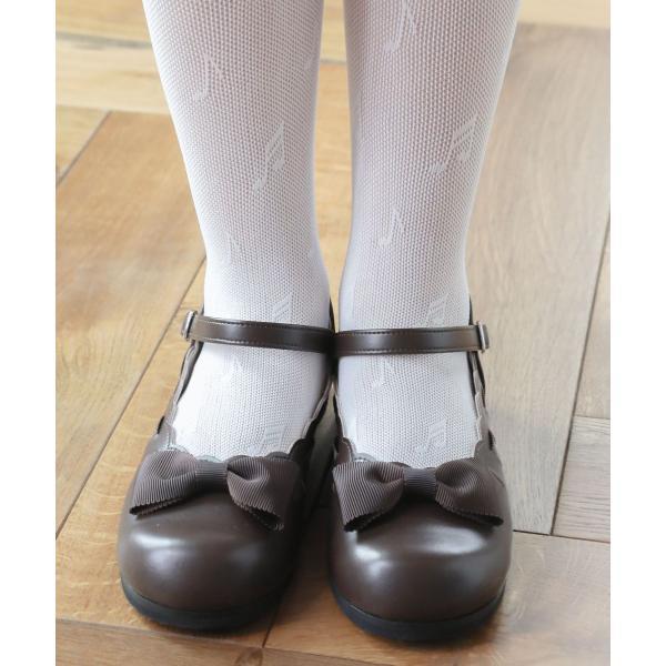 c2dca6c043d8f ... 子供フォーマルシューズ 子ども靴 キッズシューズ 入学式 結婚式 発表会 はしごリボンの ...