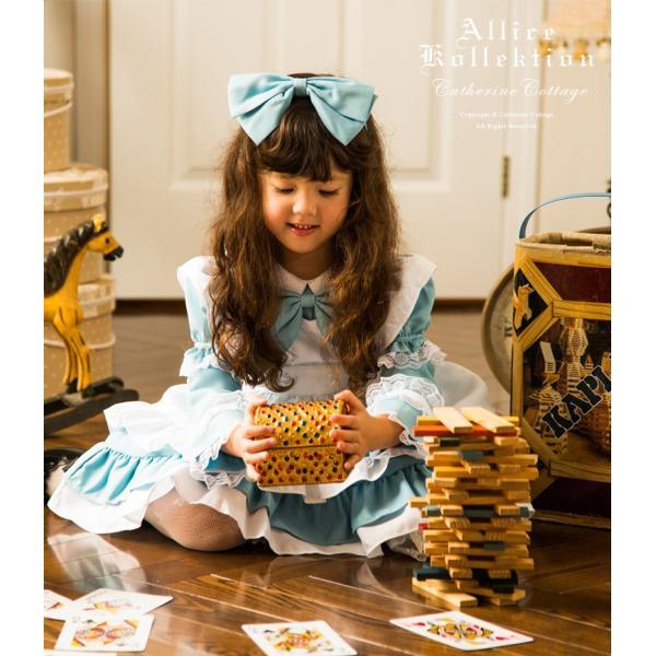 ハロウィン 子供  アリス ドレス エプロン セット  90 100 110 120 130cm FRSP|catherine|04