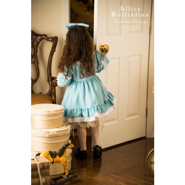 ハロウィン 子供  アリス ドレス エプロン セット  90 100 110 120 130cm FRSP|catherine|06