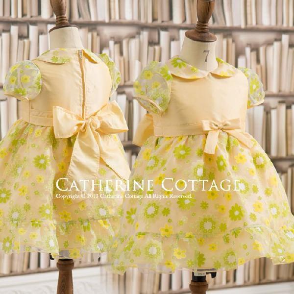 4501c94ff0e25 ... 子供ドレス ベビードレス ベビープリントオーガンジー 80-100cm 結婚式 発表会 在庫限り ...