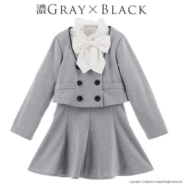 卒業式 スーツ 女の子 入学式 子供服 女の子 パイピングニットスーツ 110 120 130 140 150 160 cm ONB YS 期間限定セール|catherine|07
