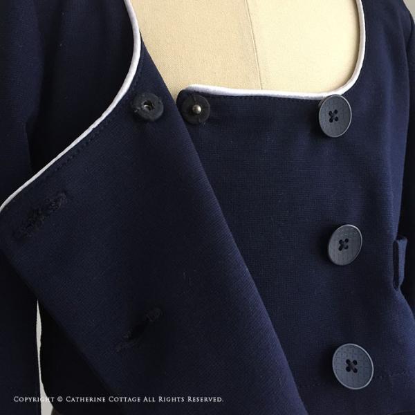 卒業式 スーツ 女の子 入学式 子供服 女の子 パイピングニットスーツ 110 120 130 140 150 160 cm ONB YS 期間限定セール|catherine|09