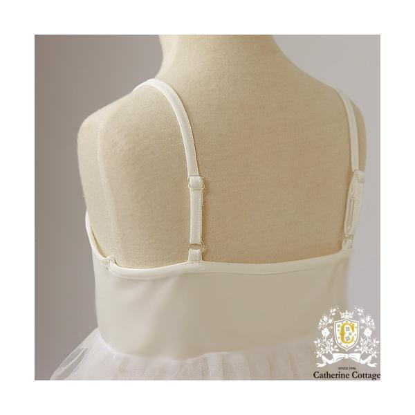 肩紐付きベビーペチコート ベビードレス スリップ アンダーウエア パニエ 70-95cm TAK catherine 03