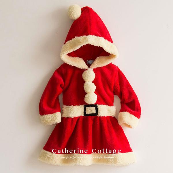 ベビー着ぐるみ サンタ トナカイ コスチューム クリスマス もこもこ ロンパース 70 80 90 95cm FRSP|catherine|03