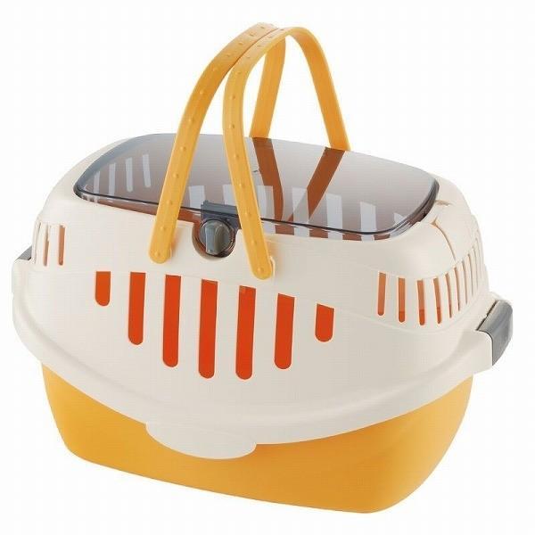 【宅配便配送】リッチェル ピコ キャットキャリー オレンジ|cattery-branche