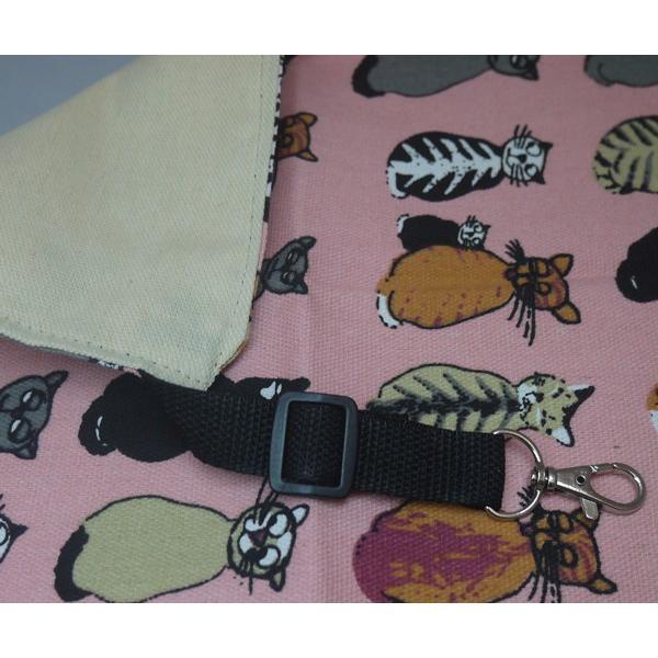 【ネコポス対応】ニャンモック 猫柄 猫用ハンモック ピンク Lサイズ ベット ケージ|cattery-branche|02