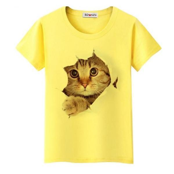 送料無料猫 猫柄 Tシャツ メンズ かわいい トップス 半袖 イラスト