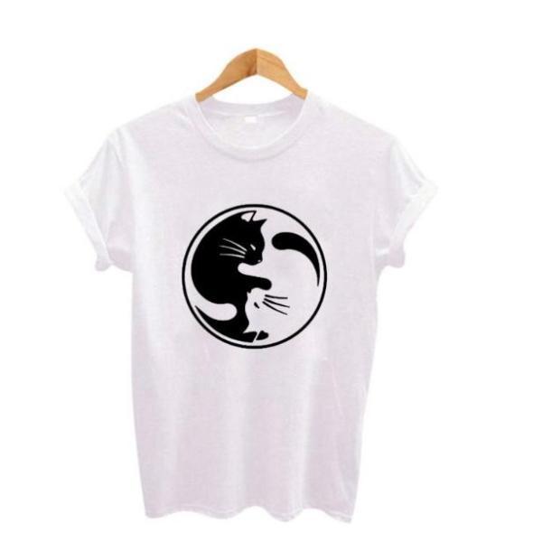 送料無料 猫 猫柄 Tシャツ メンズ ホワイト かわいい ユニーク イラスト おしゃれ ねこ ネコ グッズ 雑貨 プレゼント Cattshirt134 お取り寄せ猫雑貨 通販 Yahoo ショッピング