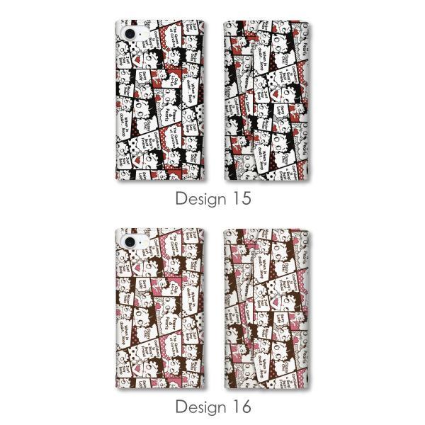 ベティー ブープ(TM) ベティーちゃん スマホケース 全機種対応 手帳型 ミラー付 鏡付 レター型 スマホカバー 正規品 Betty Boop(TM) 送料無料|caw|12
