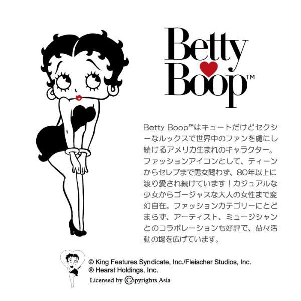 全機種対応 ミラー付 鏡付 レター型ケース (3つ折りタイプ) スマホケース ベティー ブープ(TM) ベティーちゃん キャラクター 正規品 Betty Boop(TM) 送料無料|caw|03