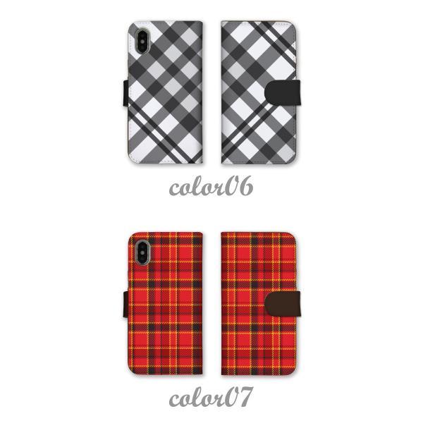 76154fd48e ... スマホケース 手帳型 全機種対応 iPhone XR ケース iphone8ケース スマホカバー 定番デザイン チェック柄 ...