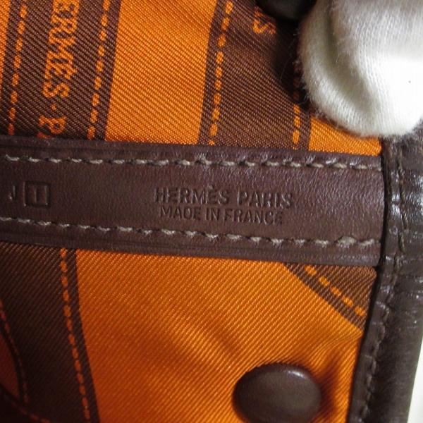 エルメス ガーデンパーティ スイフト ツイリーTPM ハバナ □I刻印 ハンドバッグ ツイリースカーフなし HERMES|cawcaw|04