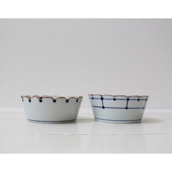花びら 小鉢 鉢 ボウル 磁器 和食器 伝統工芸 京都染付 12.5cm|cayest|02