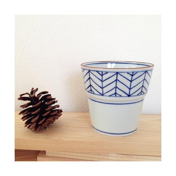 茶器 湯飲み4種 焼酎 フリーカップ 湯呑 京都染付 陶峰窯 オリジナルカップ |cayest|03