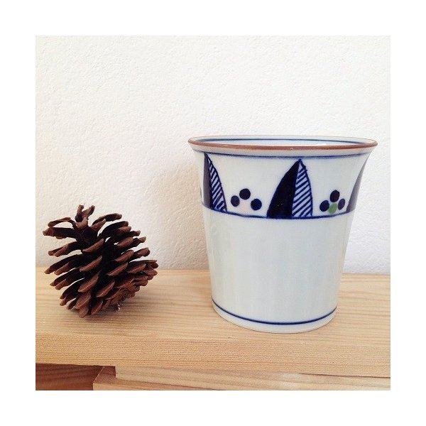 茶器 湯飲み4種 焼酎 フリーカップ 湯呑 京都染付 陶峰窯 オリジナルカップ |cayest|06