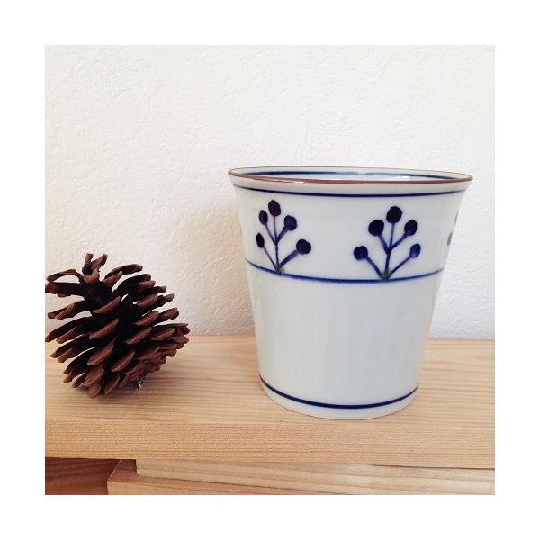 茶器 湯飲み4種 焼酎 フリーカップ 湯呑 京都染付 陶峰窯 オリジナルカップ |cayest|05