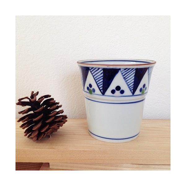 茶器 湯飲み4種 焼酎 フリーカップ 湯呑 京都染付 陶峰窯 オリジナルカップ |cayest|04