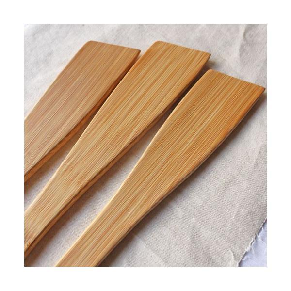 ピラフターナー 竹製 日本製 孟宗竹 細め ターナー フライ返し 木製調理器具|cayest|03