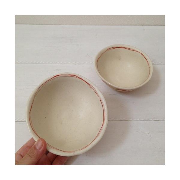 お茶碗 赤絵 飯碗 シノワ トクサ 廣川みのり 和食器 陶器|cayest|05