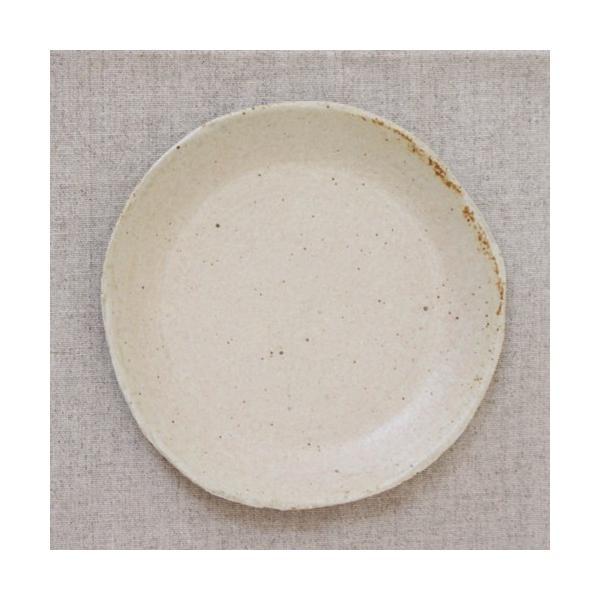 おしゃれ取り皿 小皿 キナリ/黒 丸皿 15cm 信楽焼 食器 和食器|cayest|03