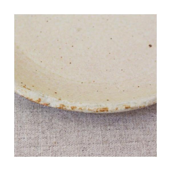 おしゃれ取り皿 小皿 キナリ/黒 丸皿 15cm 信楽焼 食器 和食器|cayest|04