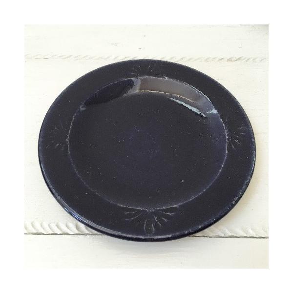 花紋丸皿 小皿 取り皿 銘々皿 14cm 河原崎優子 信楽焼 食器 和食器 おしゃれ|cayest|04