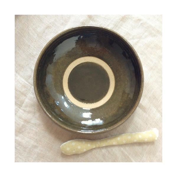 カレー皿 パスタ皿 大皿 河原崎優子 食器 陶器 和食器 おしゃれ 日本製|cayest|05