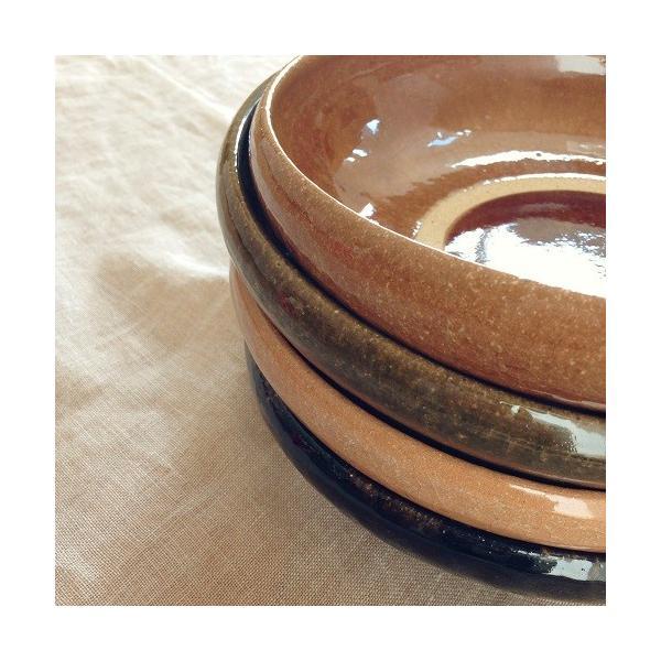 カレー皿 パスタ皿 大皿 河原崎優子 食器 陶器 和食器 おしゃれ 日本製|cayest|03