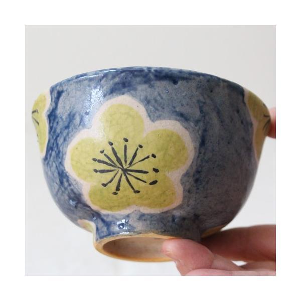 大梅 お茶碗 飯碗 梅の花 和食器 カラフル かわいい 廣川みのり cayest 04