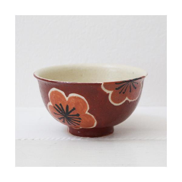 大梅 お茶碗 飯碗 梅の花 和食器 カラフル かわいい 廣川みのり cayest 06