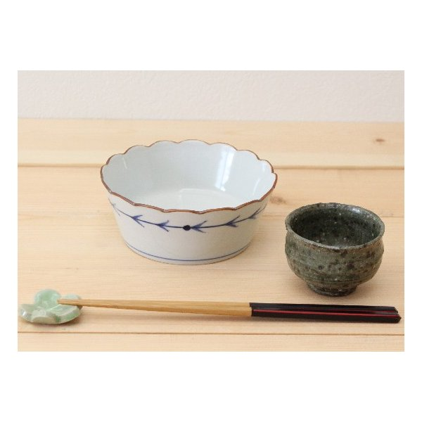 的矢 小鉢 鉢 ボウル 磁器 和食器 京都染付 日本製 アロー|cayest|06