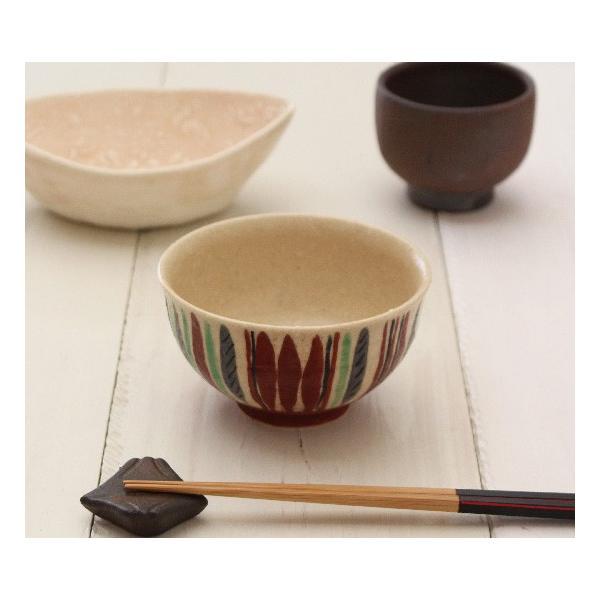 十草 お茶碗 飯碗 スタンダード 廣川みのり 手作り おしゃれ|cayest