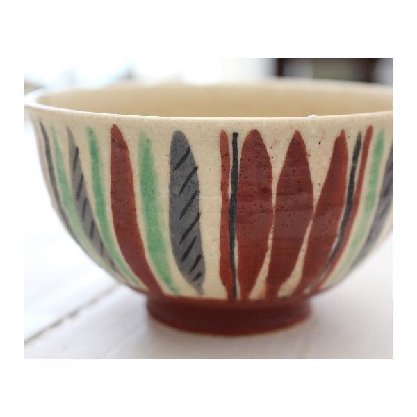 十草 お茶碗 飯碗 スタンダード 廣川みのり 手作り おしゃれ|cayest|06