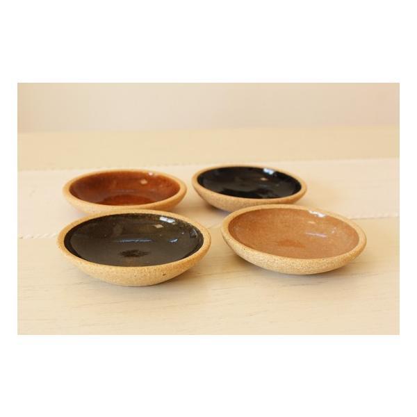 小皿 豆皿 8.5cm 内釉 河原崎優子 信楽焼 和食器 カラフル おしゃれ かわいい|cayest|03