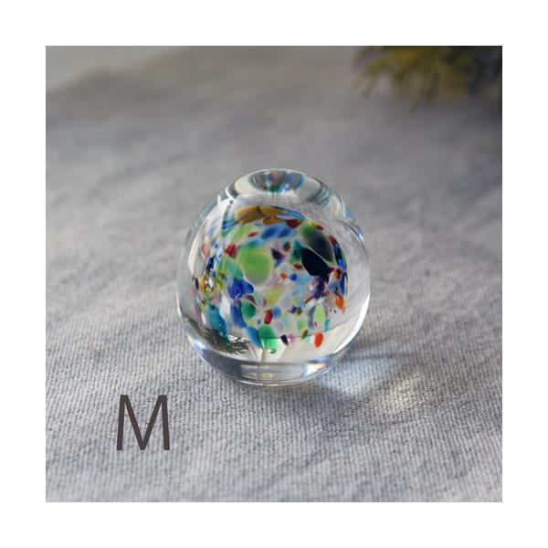 ペーパーウェイト ガラス 文鎮 吹きガラス 手作り tonari|cayest|11