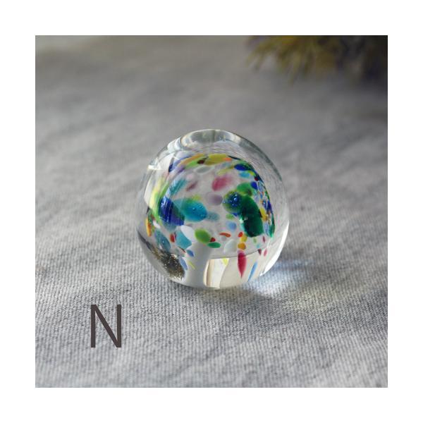 ペーパーウェイト ガラス 文鎮 吹きガラス 手作り tonari|cayest|12