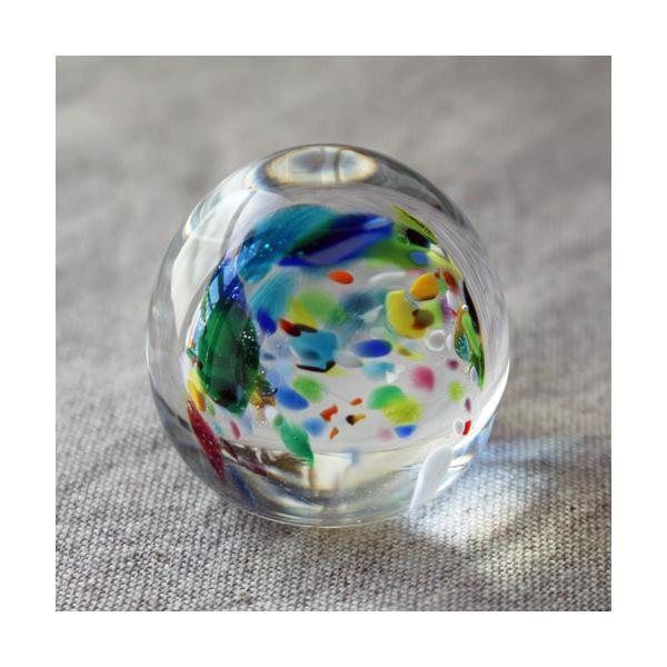 ペーパーウェイト ガラス 文鎮 吹きガラス 手作り tonari|cayest|03