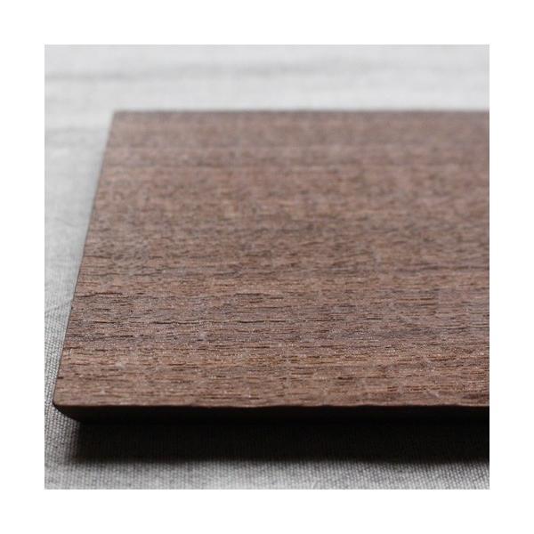 木製プレート お盆 トレイ コースタートレイ スクエア オイル仕上げ 甲斐幸太郎 木の器 cayest 03