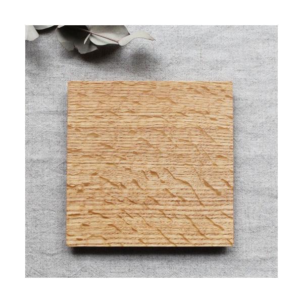 木製プレート お盆 トレイ コースタートレイ スクエア オイル仕上げ 甲斐幸太郎 木の器 cayest 06