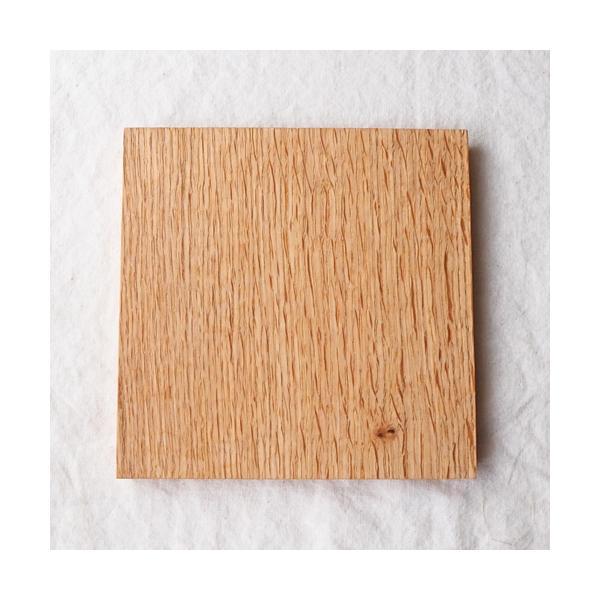 木製プレート お盆 トレイ コースタートレイ スクエア オイル仕上げ 甲斐幸太郎 木の器 cayest 07