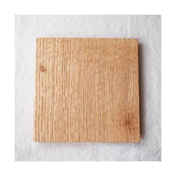 木製プレート お盆 トレイ コースタートレイ スクエア オイル仕上げ 甲斐幸太郎 木の器 cayest 08