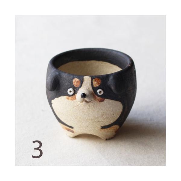 植木鉢 バーニーズマウンテンドック 小 陶器 犬 多肉植物 利十郎窯 信楽焼|cayest|07