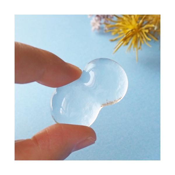透明 しずく ガラス 箸置き tonari つぶつぶ 吹きガラス 手作り かわいい|cayest|05