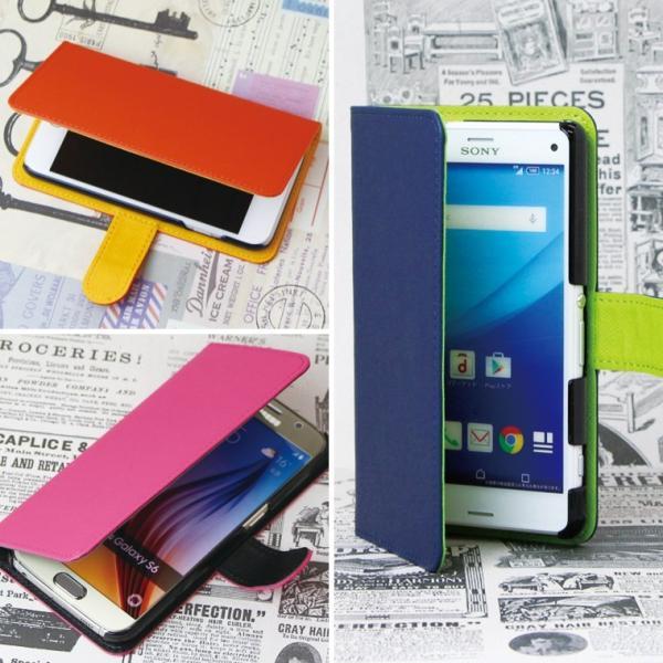 ca42c41b5d ... スマホケース Android One X2 ケース 手帳型 アンドロイド ワン カバー スマホカバー 横 大人のシンプルデザイン ...