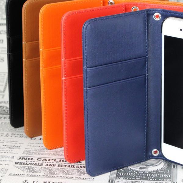 e66776177a ... スマホケース iPod touch6 ケース 手帳型 アイポッド タッチ カバー スマホカバー 横 手に馴染むシンプルデザイン ...