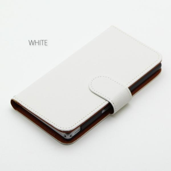 12086d6c0f ... スマホケース iPod touch6 ケース 手帳型 アイポッド タッチ カバー スマホカバー 横 シンプル無地とカメリア ...