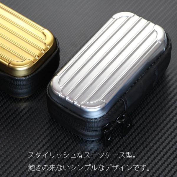 アイコス グロー ケース iQOS IQOS3 glo ケース スーツケース風 ポーチ 電子タバコ カバー 収納ケース 可愛い おしゃれ メンズ レディース 女性 プレゼント|cccworks|07
