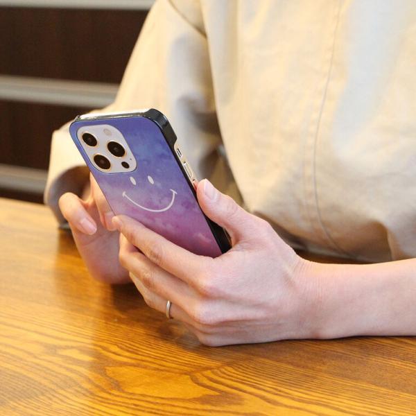 全機種対応 ケース iPhone XPERIA AQUOS ARROWS GALAXY DisneyMobile URBANO DIGNO isai HTC Huawei カバー ハードケース スマホケース スマホカバー スマイル|cccworks|03