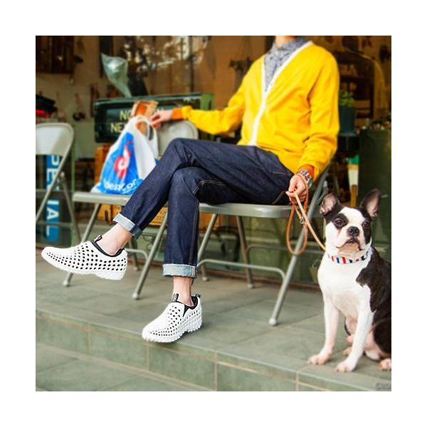 コンフォートシューズ メンズ スリッポン チル ccilu am2 amazon violet  25.5cm 軽量 オフィス 靴 アウトドア|ccilu|02