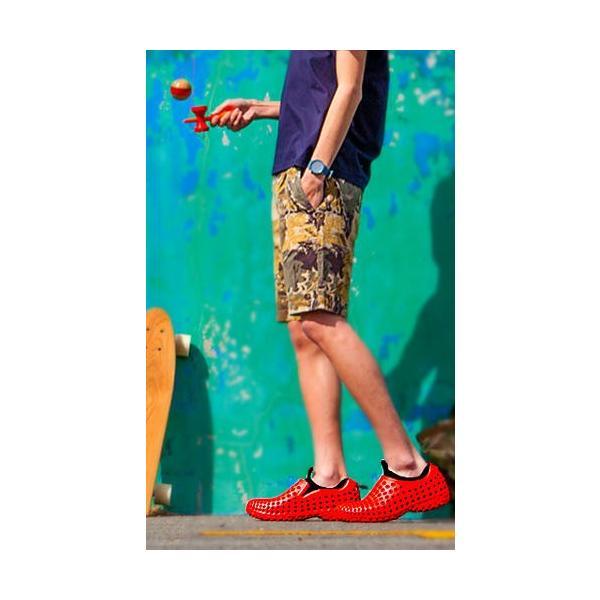 コンフォートシューズ メンズ スリッポン チル ccilu am2 amazon violet  25.5cm 軽量 オフィス 靴 アウトドア|ccilu|15